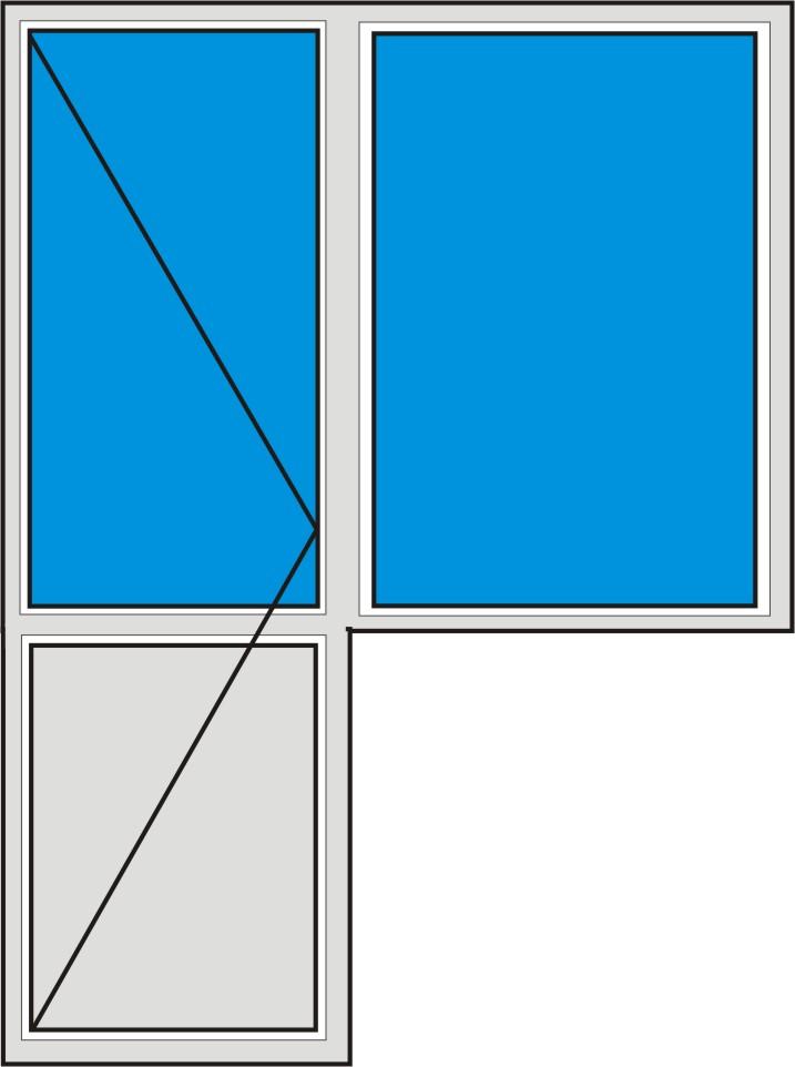 Цены на окна пвх. расчет стоимости окон для типовых квартир..